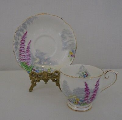 Bell  No 6641 Valley Scene  England Fine Bone China Tea Cup And Saucer Set