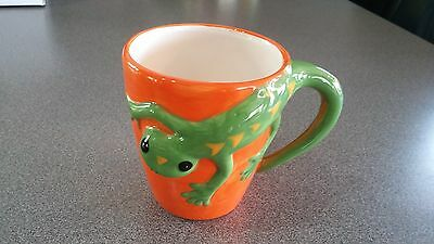Geico 14 Once Coffee Cup. Ceramic