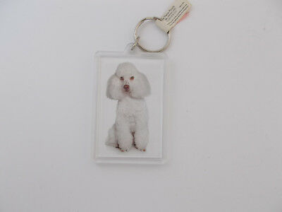 Dog Breed Keychain- I Love My Poodle -Dog Breed Specific,Pet