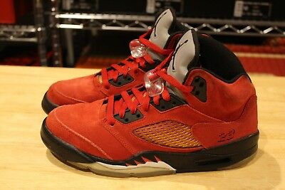 brand new 6bf65 11158 Nike Air Jordan 5 V Retro DMP Raging Bull Red 136027 601 Size 8 Suede 1