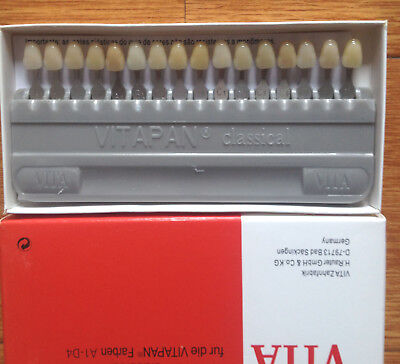 Dental Equipment Teeth Whiting Porcelain VITA Pan Classical 16Color shade guide