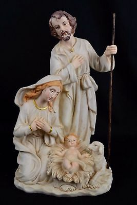 One Piece Christmas Nativity Scene Set Four Figurine, 260mm, Resin