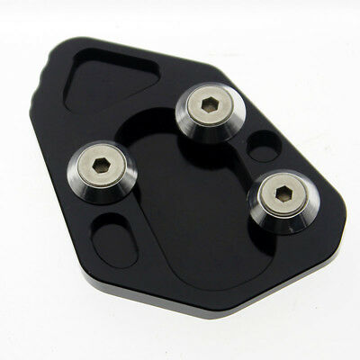 Side Stand Kickstand Foot Extension Plate Pad For BMW F800R 2009-2014 12 13