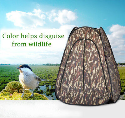 Waterproof Ground Hunting Camo Outdoor Photography Archery Hunter PopUp Tent New