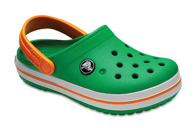 Chaussures Enfants/Junior Sneakers Crocs Clog [204537 Grass Green/White/Blazing]