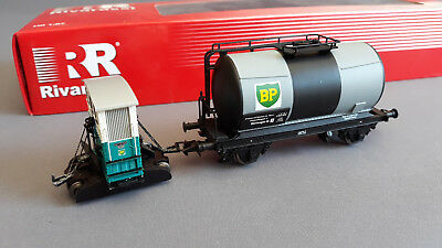 Rivarossi Hr2217 Bp Rail Tractor + Tanker Dcc Excellent Cond Boxed Ho Gauge(Gd)