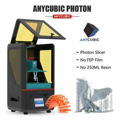 ANYCUBIC Photon 3D Printer LCD Masking UV Resin 2.8'' Smart Touch Off-line Print