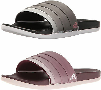 ADIDAS WOMEN'S ADILETTE Cloudfoam Plus Armad Athletic Slides ...