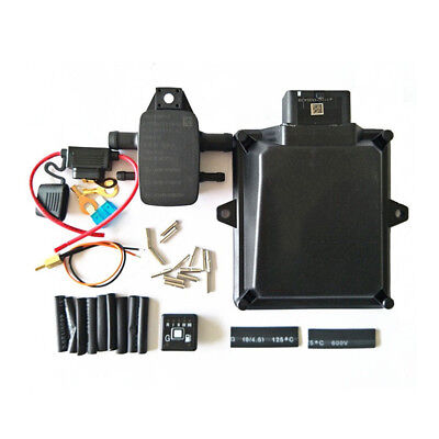 Gas conversion kits for MP48 OBDII Firmware ECU 3/4cylinder engine consists