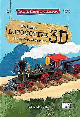 Sassi: Travel Learn and Explore 3D Puzzle - Locomotive by Valentina Manuzzato Pa