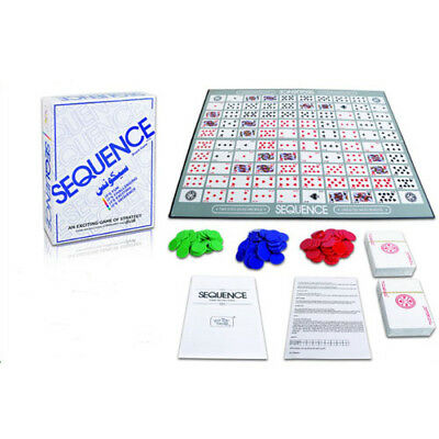 SEQUENCE BOARD GAME Family Party Board Game Cards Against Humanity Fun Game Gift
