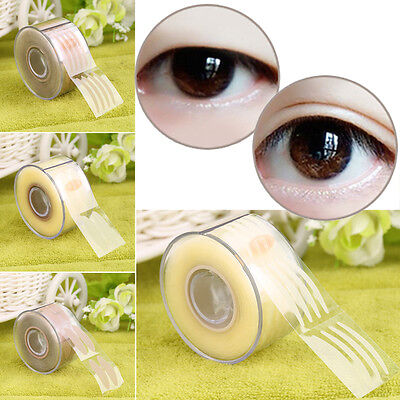300 Pair Adhesive Invisible Wide/Narrow Double Eyelid Sticker Tape Makeup L0