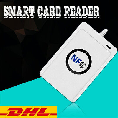 NFC ACR122U RFID Contactless Smart Reader & Writer/USB + 5X IC Card @4