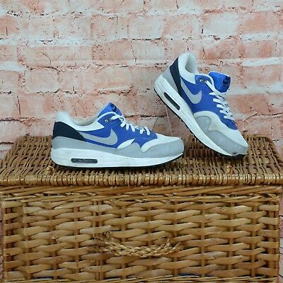big sale 2d851 d5bb3 Nike Air Max Leather   Canvas Trainers Shoes UK 7 EU 41 Free Postage