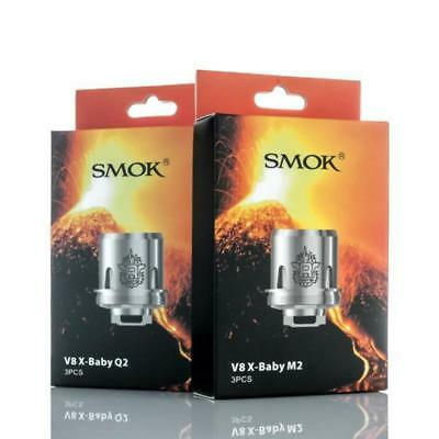 Smok Tfv8 Baby X Coils In Packs