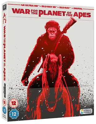 War for the Planet of the Apes 4K (HMV Exclusive Ltd Ed Blu-ray Steelbook) [UK]