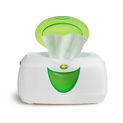 Munchkin Wipe Warm Warmer Glow Insulated Storage Infant baby Diaper Wipes Green