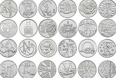A-Z 10p Coins Uncirculated