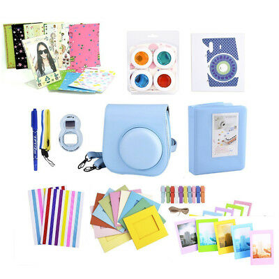 11 in 1 Instant Camera Accessories Bundles Set Kit for Fujifilm Instax Mini 8 9