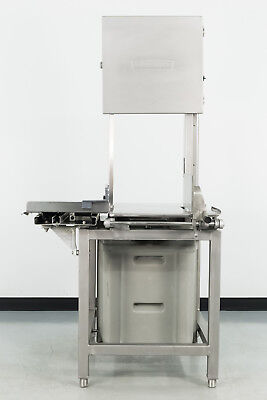 Used Hobart 6801 3 HP Vertical Meat Saw
