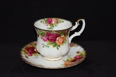 Royal Albert Old Country Roses Coffee Cup And Saucer 1st Quality