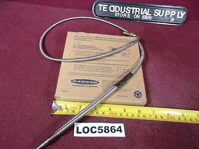 "Banner Bat23S 17222 Fiber Optic Cable 36"" Long New In Box Loc5864"