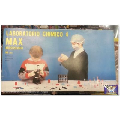 Laboratorio chimico  Max 4 e Microscopio M6 300x  - IGC Max - Made in Italy - Ar