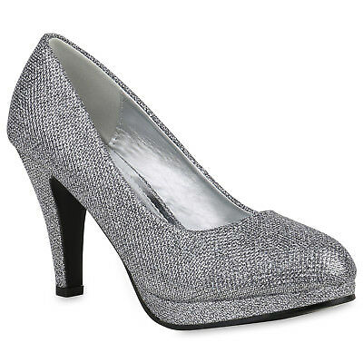 FASHION DAMEN SCHUHE 128753 PUMPS GRAU 36 NEUWARE