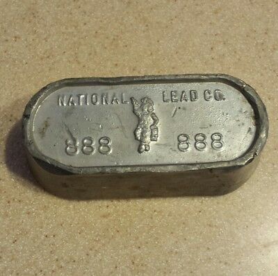 Dutch Boy National Lead Company  888 3lb Weight