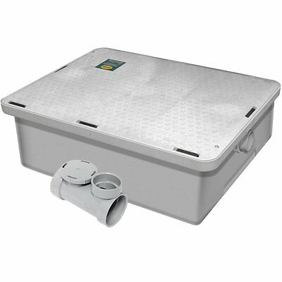 Commercial Kitchen Endura Low Profile Grease Trap 50 lb 25 G.P.M.