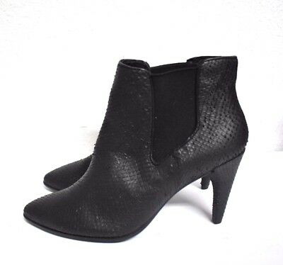 Blue Ecco ECCO Shape 75 Pointy Lace MJ Black Leather Womens