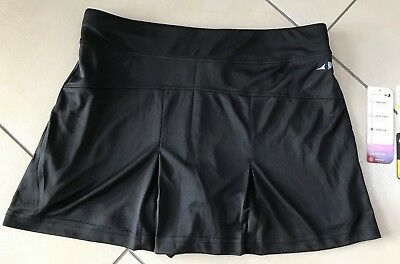 NEU,Firma Grand Slam, Damen Skort, Hockey- Tennis-Rock, schwarz, Gr. M,