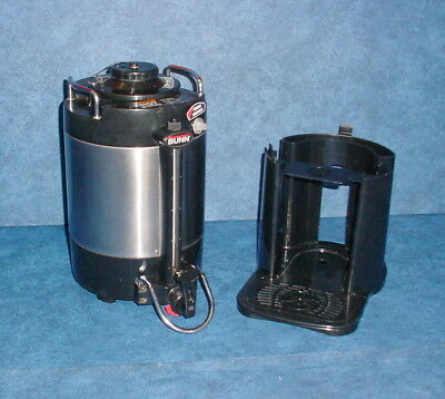 Bunn SGC-60D 1.5 Gal Stainless Thermo Insulated Hot Coffee Dispenser w/Stand #2
