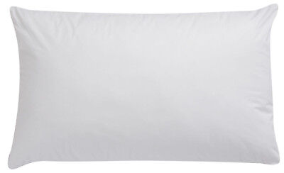 White Cot Bed Baby Pillow Case Pillowcase 60CM x 40CM Luxury White - Pack of 1