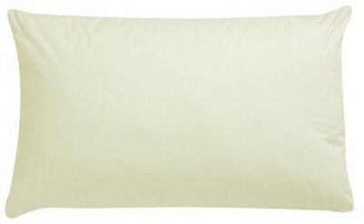 Cream Cot Bed Baby Pillow Case Pillowcase 60CM x 40CM Luxury Cream - Pack of 1