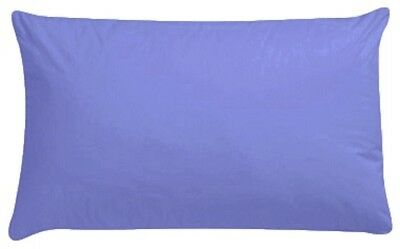 Blue Cot Bed Baby Pillow Case Pillowcase 60CM x 40CM Luxury Blue - Pack of 1