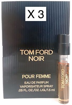 77da1e56647db5 TOM FORD NOIR Pour Femme EDP Perfume Spray Sample, .05 oz. NEW ...