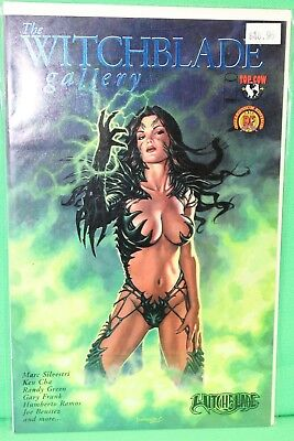 Witchblade Gallery #1 Blue Foil Dynamic Forces DF Variant Comic Image Comics VF