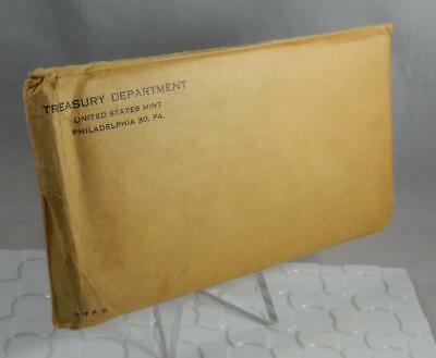 1957 US Mint 5 Coin Silver Proof Set Original Mint Sealed Envelope CB393