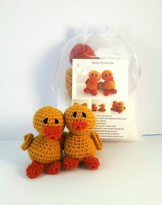 Chicks Luxury Alpaca Mini Crochet Kit Craft Gift