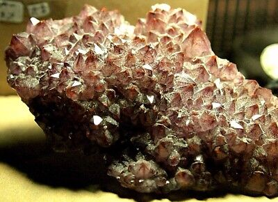 Red Tipped Amethyst/Hematite crystal,105x67x20mm,481.90ct,,AM-C37,earth grown