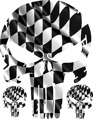 checkered flag hood decal fender auto vinyl car truck body racing Chevy Truck Clutch Kits punisher skull race flag checkered vinyl decal hood side for car truck 28