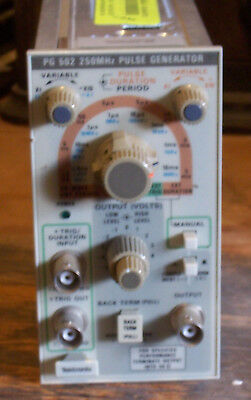 Tektronix PG502 250MHz Pulse Generator - NOT TESTED