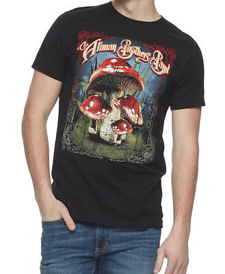 Allman Brothers Band MANY MUSHROOMS Southern Rock T-Shirt NEW Licensed