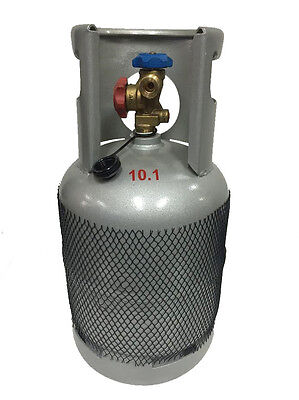 Reclaim Recovery Cylinder Bottle Tank For Hydrocarbon Refrigerant Gas 10Kg-12Kg