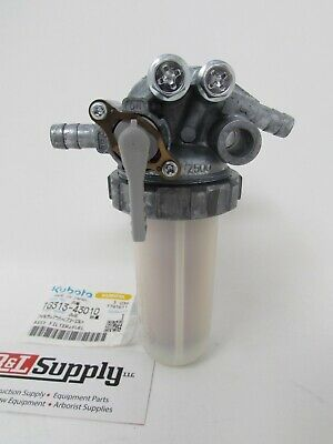 New Genuine Kubota Fuel Filter Assembly 1G313-43010 & 15393-43017