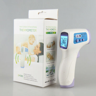 Non-contact Baby/Adults Skin Infrared IR Digital LCD Thermometer Temperature AU