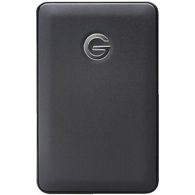 G-TECHNOLOGY G-DRIVE mobile USB, 1 TB HDD, extern, Schwarz