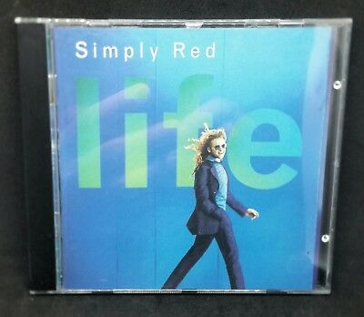 Simply Red CD - Life CD Album,1995,Fairground,You Make Me Believe,Fast Free P&P