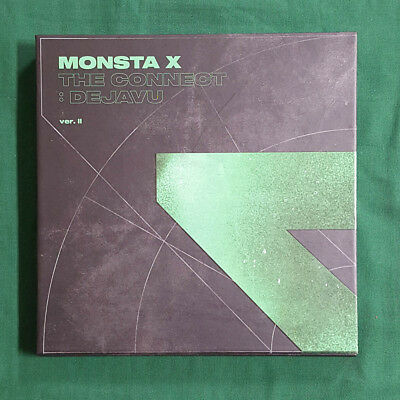 [Pre-Owned/No Photocard] Monsta X The Connect : Dejavu Ver.2 CD Booklet